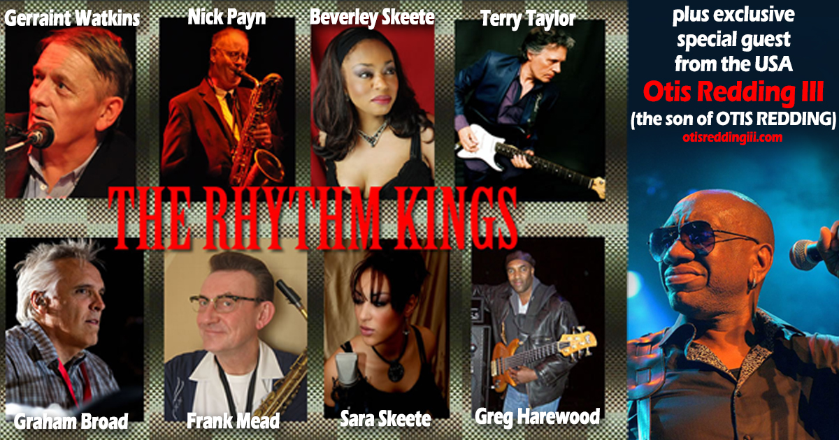 Rhythm Kings and Otis III